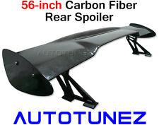 """56"""" Universal Racing Carbon Fiber Rear Spoiler GT Wing Track Drift Autotunez TyG"""