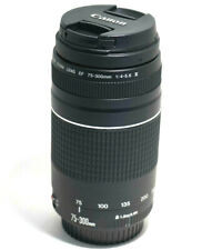 Canon Zoom Lens EF 75-300mm f/4-5.6 III Telephoto Zoom Lens FOR PARTS OR REPAIR