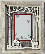 Birch Forest 4x6 Faux Stone Photo Frame from Pier One