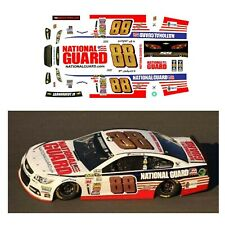 #88 Dale Earnhardt Jr 2014 National Guard Decal 1/64 scale Afx Tyco Auto World