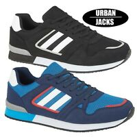 MENS RUNNING MESH SPORTS TRAINERS CASUAL GYM WALKING LACE UP LIGHTWEIGHT SHOES