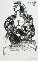 PABLO PICASSO, LIMITED EDITION LITHOGRAPH, ATELIER CALIFORNIE III, HAND NUMBERED