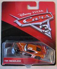 Disney PIXAR Cars TIM TREADLESS #28 Nitroade race car BRAND NEW CASTING in hand!