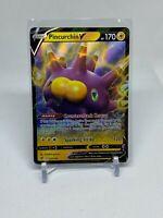 Pincurchin V - 072/192 - Ultra Rare - Rebel Clash - Pack Fresh!