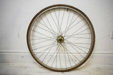 """1979 WEINMANN ALLOY RIM/ MAILLARD VINTAGE BICYCLE FRONT 27 X 1 1/4"""" WHEEL"""