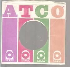 Company Sleeve 45 ATCO White w/ Purple/Red/Green/Orange Logo on