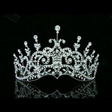 Bridal Pageant Rhinestone Crystal Wedding Tiara Crown 6418