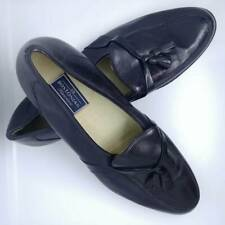Bostonian Florentine Mens Loafers Black Tassel Leather Slip On Dress Shoes 13 M