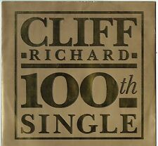 """CLIFF RICHARD - 12"""" - The Best Of Me (4 Track Gold Picture Sleeve)  EMI"""