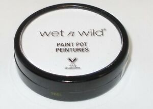 WET N WILD Paint Pot WHITE 1230093 Factory Seal