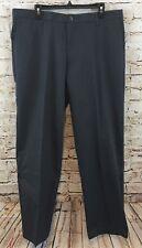 Dockers pants Mens 32 x 34 gray plaid signature khaki D2 flat 408280104 new A5