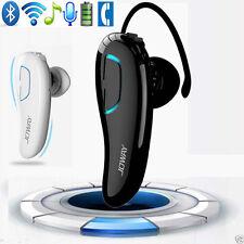 Wireless Bluetooth Headset Kopfhörer Schwarz Ohrhörer für Samsung iPhone HTC NEU