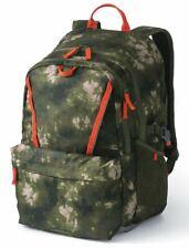 Lands End Backpack ClassMate Mossy Bark Tie Dye Green Camo Kindergarten NEW
