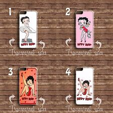 BETTY BOOP CARTOON PHONE CASE COVER IPHONE AND SAMSUNG MODELS