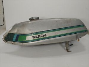Puch Gas Tank for Vintage Moped Nickel Antique