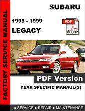 SUBARU 1995 1996 1997 1998 1999 LEGACY ULTIMATE FACTORY SERVICE REPAIR MANUAL