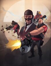"""Team Fortress 2 Game poster 32 x 24"""" Decor 26"""