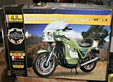HELLER 1/8 KAWASAKI 1000GG GODIER GENOUD MOTORCYCLE MODEL KIT