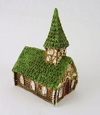 Dollhouse Miniature Fairy Garden Micro 1:96 Scale Church, 17350