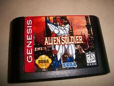 Sega Genesis Alien Soldier NTSC Game