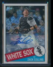 2020 TOPPS SILVER PACK ROOKIE /199 35TH ANNIVERSARY AUTO ZACK COLLINS WHITE SOX