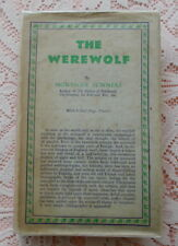 THE WEREWOLF BY MONTAGUE SUMMERS 1933 1ST ED.WITH JACKET WEREWOLVES LYCANTHROPY