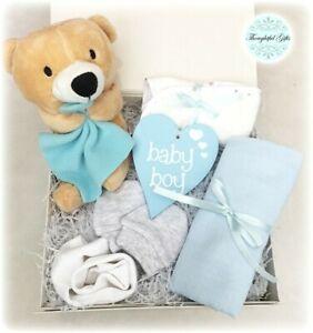 Baby Shower Christening New Baby Boy/ Girl/ Unisex Gift Box Set Hamper Present