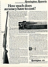 1973 Print Ad of Remington Reports Model 788 Rifle how much does accuracy cost?