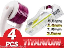 (4 PIECES) TMT Micro Needle Skin Roller For Cellulite, Derma Scars, Body, Acne