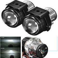 "2x 2.5"" Fog Lamp Projector Lens with Mount Fastener for Car H8 H9 H11 Headlight"
