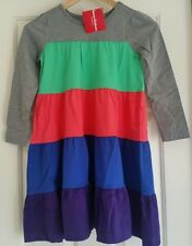 NWT HANNA ANDERSSON TWIRL GIRL LONG SLEEVE COLORBLOCK DRESS 130 8