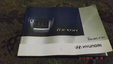 2014 Hyundai Tucson Car Multimedia System Users Manual Bluelink 2SMS7-S0001