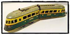 Gioco Latta Vintage LOCOMOTIVA SNCF Joustra Made in France  Tin Toy '50