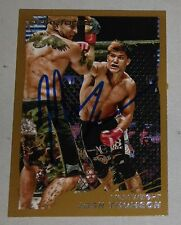 Josh Thomson Signed UFC 2011 Topps Moment of Truth Gold Card 172 StrikeForce MMA