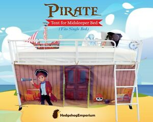 Midsleeper Tent for Cabin Bed, Mid sleeper - Pipplin the adventurous Pirate