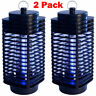 2Pack Electric Mosquito Fly Bug Insect Zapper Killer LED Trap Lamp Stinger Pest