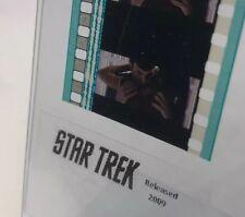 Authentic STAR TREK (2009) Movie Film 5-Cells SPOCK HUGGING UHURA