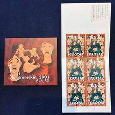 Faroe Stamp Booklet #26 2001 Christmas Life of Christ 6,50kr - CTO - Excellent!