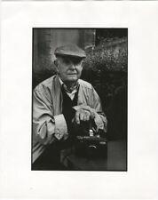 Photo Anonyme Argentique Le Photographe Henri Cartier Bresson Vers 1980/90
