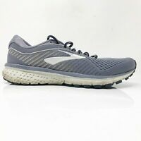 Brooks Womens Ghost 12 1203051B086 Gray Running Shoes Lace Up Low Top Size 11 B