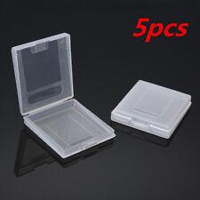 5Pcs Game Cartridge Plastic Case Box Storage For Nintendo GameBoy Color GBC GBP
