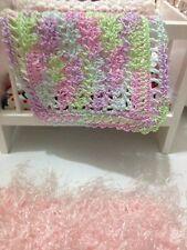 Crochet Miniature Dollhouse Baby Blanket Easter Egg