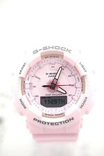 CASIO Midsize G-SHOCK GMAS130-4A Analog Digital Pink Case Resin Band