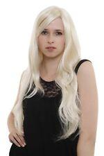 Peluca de Mujer en Blendend Hermosas Rubio Platino Muy Largo Liso 3402-613