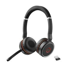 Jabra Evolve 75 On the Ear Wireless Headset - Black