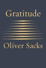 Gratitude by Oliver Sacks (2015, Hardcover)