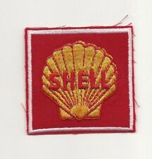 Vintage Automobile Gas and oil sew on patch SHELL  NOS #1