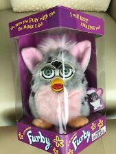 Furby 1998 Rare Original Tiger Electronics Sealed 70-800, PINK BELLY, Green EYES
