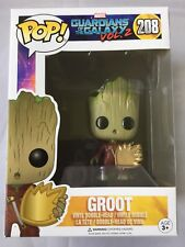 GROOT Shield Guardians Of The Galaxy Vol 2 exclusive 208 Pop Vinyl Movie New