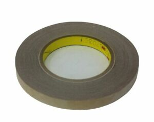 "3M 9482PC Adhesive Transfer Tape Hand Rolls 2.0 Mil 1"" x 60 yds"